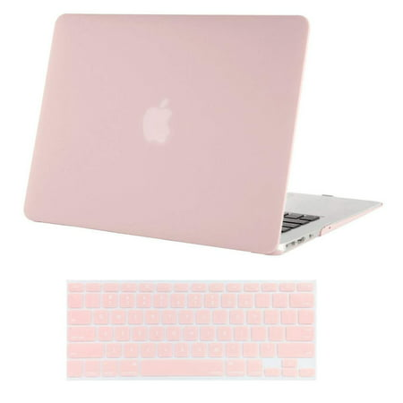 Mosiso Plastic Hard Cover Case for MacBook Air 13 inch No Touch ID (Models: A1369 &A1466,2010-2017)With Keyboard