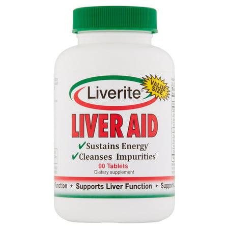 Liverite Liver Aid Value Size Tablets  90 Count