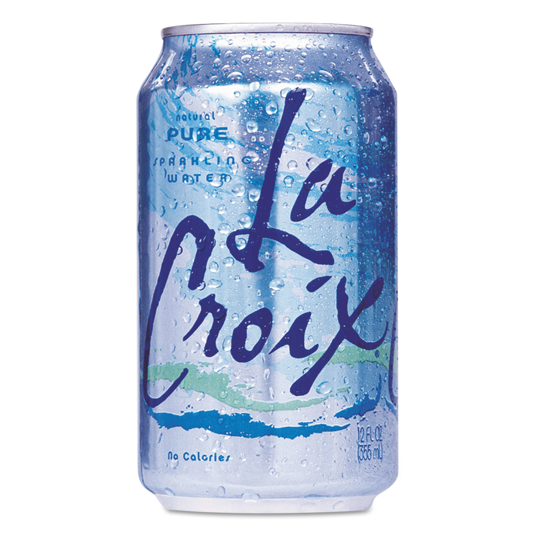 LaCroix Pure Sparkling Water, 12 fl oz, 24 pack