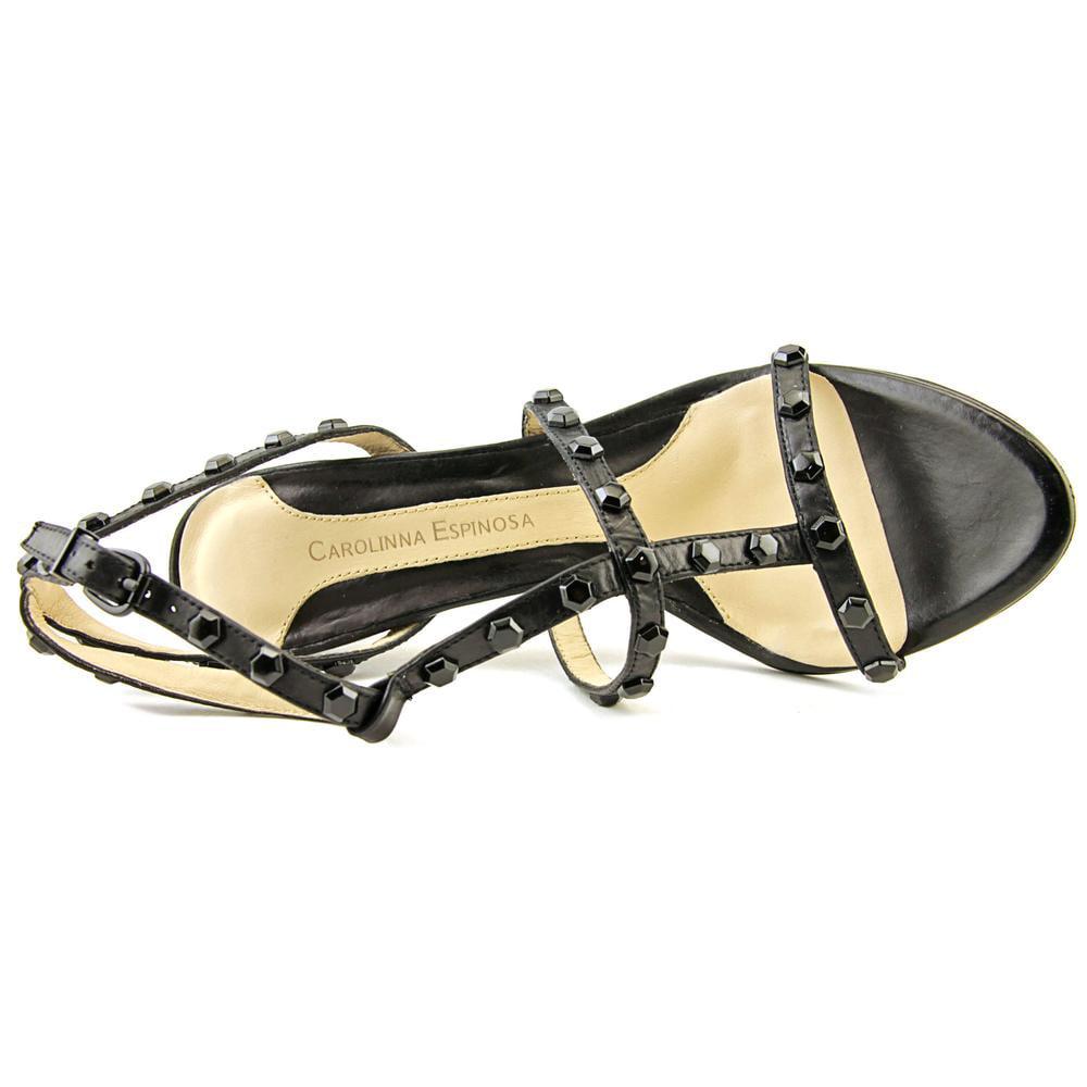 Carolinna Espinosa Axel    Open-Toe Leather  Axel Heels 015214