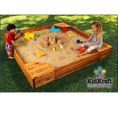 KidKraft Backyard Sandbox