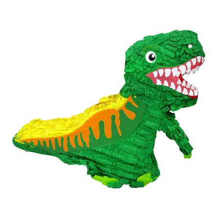 Green Dinosaur Pinata for Kids Birthday - Mario Star Pinata