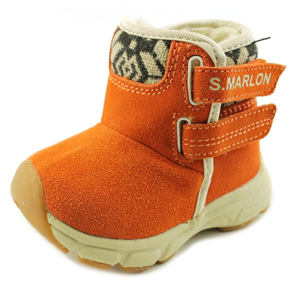 S.Marlon Dhs-040 Toddler  Round Toe Synthetic  Winter Boot