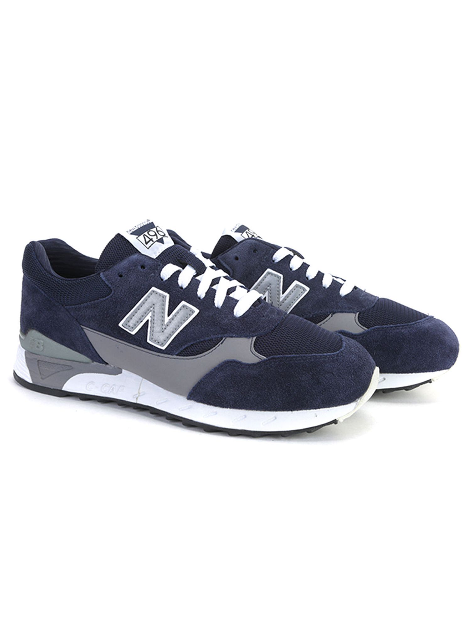 New Balance Men's 496 Series Running Shoes CM496NVY Navy by