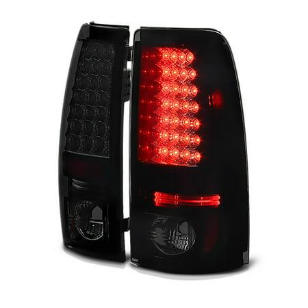 VIPMotoZ 2003-2007 Chevrolet Silverado 1500 2500 3500 LED Off-Road Smoke Lens Tail Lights, Driver & Passenger Side