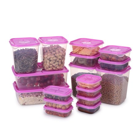 17 Pcs/Set Food Sealed Box with Cover Kitchen Tools Refrigerator Storage - image 8 of 8