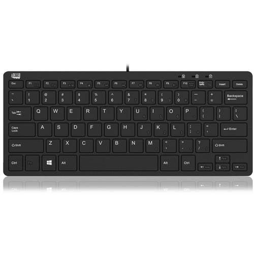Adesso SlimTouch 510 Mini Keyboard with USB Hub