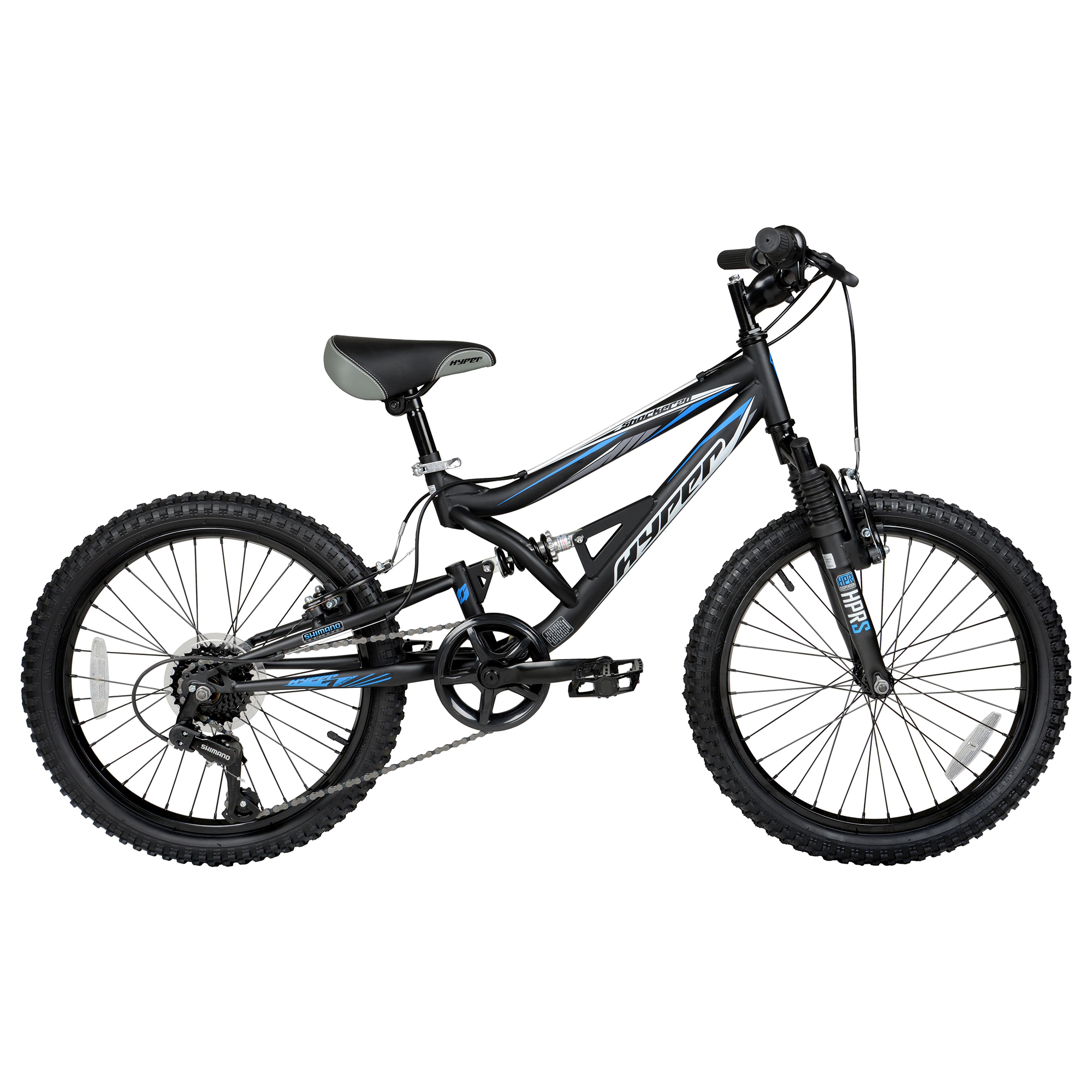 "20"" Hyper Shocker Kids Mountain Bike"