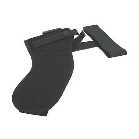 UNCLE MIKES ANKLE HOLSTER -1 12 BLACK CORDURA