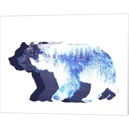 Just The Bear Necessities by Color Me Happy, Canvas Wall Art, 20W x 16H