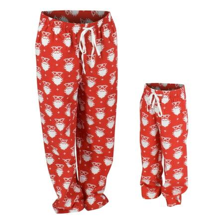 Christmas Pajama Pants.Ub Mens Christmas Santa Matching Family Pajama Pants Xl