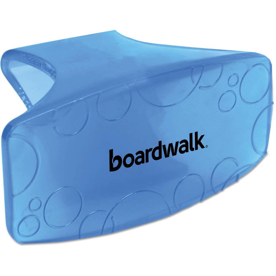 Boardwalk Eco-Fresh Cotton Blossom Bowl Clips, Blue, 12 count