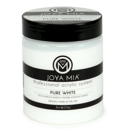 Joya Mia Acrylic Powder Pure White 8oz Walmart Com