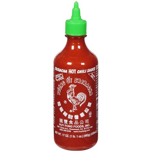 Sriracha Hot Chili Sauce, 17 fl oz