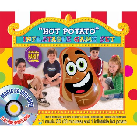 Hot Potato Inflatable Game Set (Each) - Party Supplies
