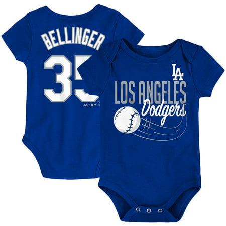 Cody Bellinger Los Angeles Dodgers Majestic Newborn & Infant Baby Slugger Name & Number Bodysuit - Royal