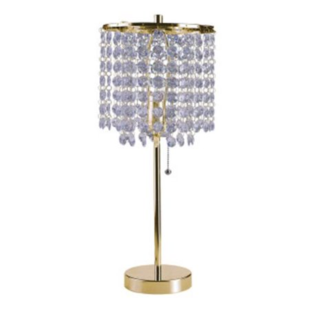 Ore Furniture 8315G 20.25 in. Deco Glam Gold Table Lamp - image 1 of 1