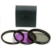 Bower 52mm 3 Piece Multi Coated HD Pro Series Digital Filter Set