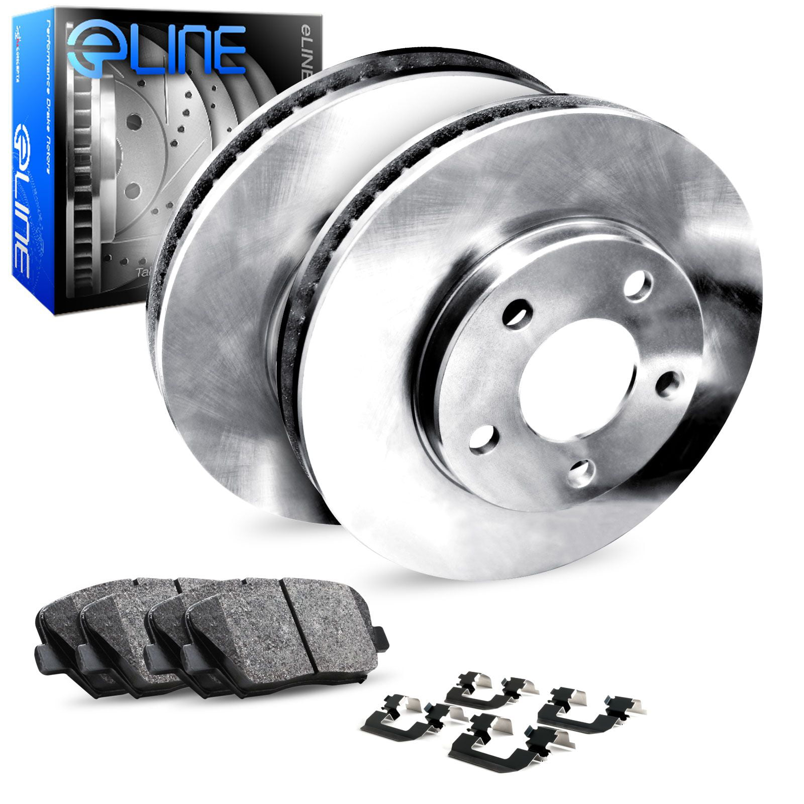 2009 2010 2011 2012 For Toyota Venza Rear Disc Brake Rotors and Ceramic Pads