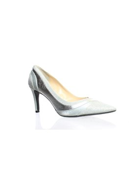 0d5a0a44f4 Product Image J. Renee Womens Zarita Silver Pumps Size 8.5