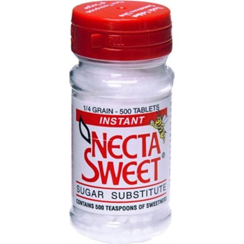 Necta Sweet Tablets 500 Tablets (Pack of 3)