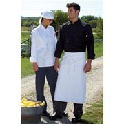 0413-2506 2Extra Large 5.25Oz Chef Coat 10 Buttons in White