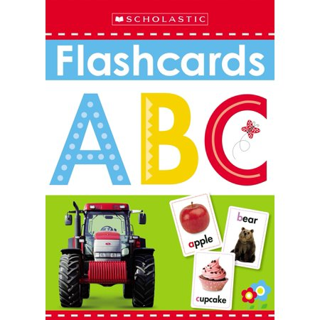 Flashcards: ABC (Scholastic Early Learners) (Dual Language Learners In The Early Years)