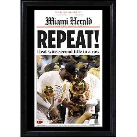 NBA Miami Heat Deluxe Frame, 11x14 Deluxe Frame Miami Heat