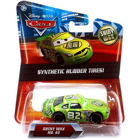 Disney Cars Synthetic Rubber Tires Shiny Wax Diecast (Cars Shiny Wax)