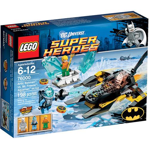 LEGO Super Heroes Arctic Batman vs. Mr. Freeze Play Set