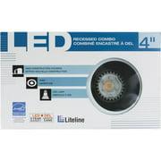 """Liteline Corporation 4"""" New Const Blck Baffle RC40101-LED-PW-BK"""