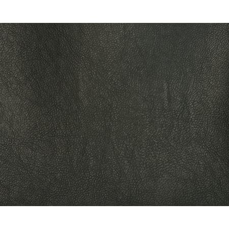 Faux Leather / Aqua Marine Vinyl / Black / 10 Yard Pre-Cut Roll (Faux Backsplash Roll)