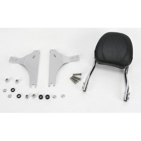 Jardine 34-5210-01 Complete Touring Steel Backrest and Mounting Kit with 8in x 8in Pad