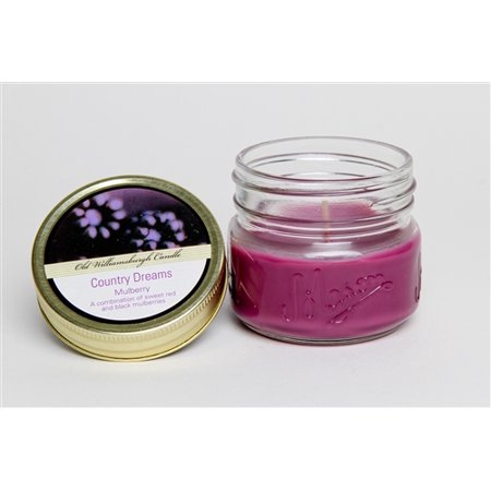 Old Williams Candle Cd 3oz Mason Jar Mulberry