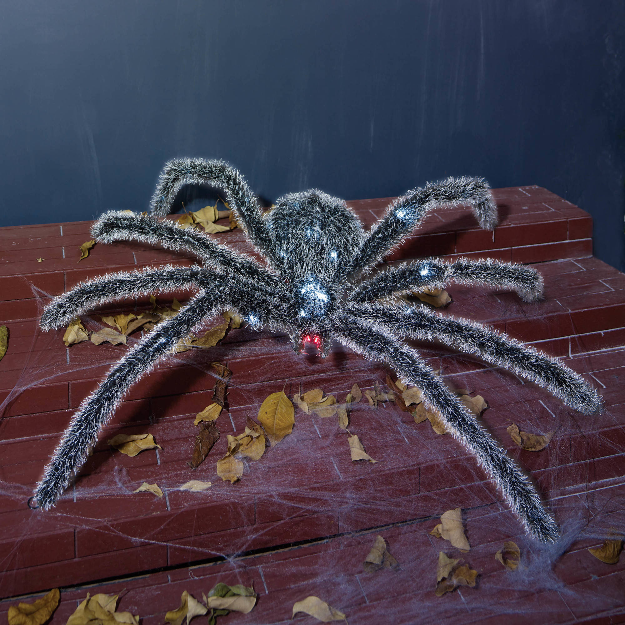 "Halloween 44"" UL Halloween LED Spider Sculpture, 44"" by TG-BROTHER CHRISTMAS GIFT CO.,LTD"