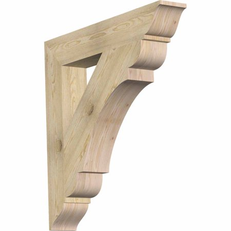 6 W x 38 D x 38 H Olympic Traditional Rough Sawn Bracket Douglas Fir