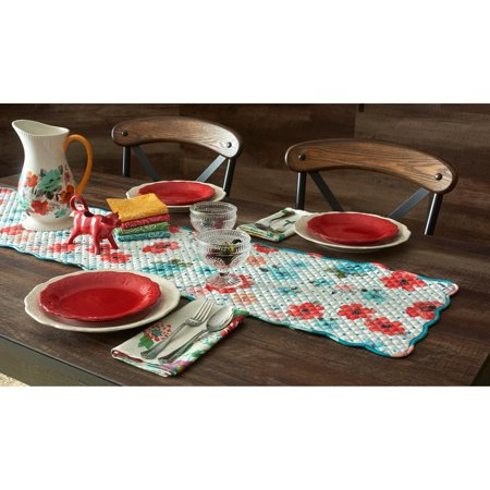 The Pioneer Woman Vintage Bloom Reversible Table Runner, 14 x 72