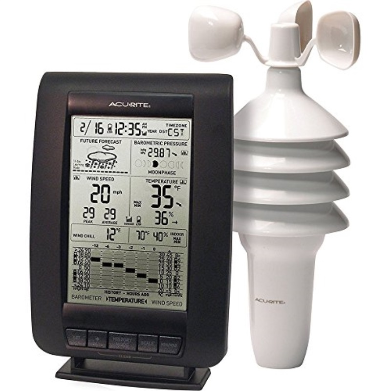 Acu-Rite Digital Weather Station with Wind Speed and Chill by Weather Stations