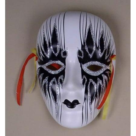 Colorful Porcelain Wall Decor Beauty Mask