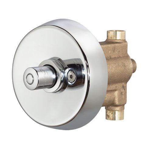 Showeroff Metering Shower Valve and Trim