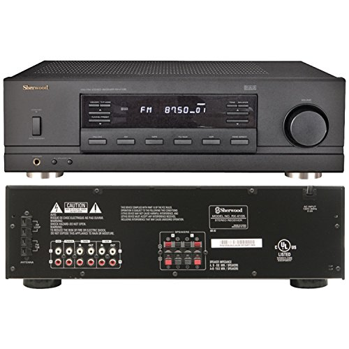 Sherwood RX-4105 2-Channel Remote-Controlled Stereo Receiver by Sherwood