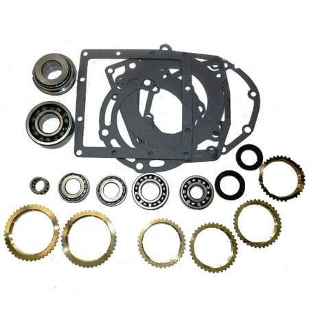 Mitsu/Ranger Transmission Bearing/Seal Kit w/Synchro Rings 1985-89 Ranger 4x4 5-Speed Manual USA Standard Gear