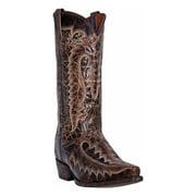 Dan Post DP3612 Men's Chocolate Leather Atticus Western Boots