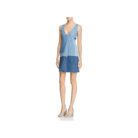 Paige Womens Lucinda Denim Patchwork Casual Dress](Marilyn Monroe Dresses)