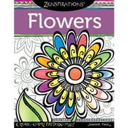 Design Originals Zenspirations Adult Coloring Book, Flowers