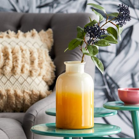 Sahara Gold Ombre Decorative Bottle by Drew Barrymore Flower Home ()