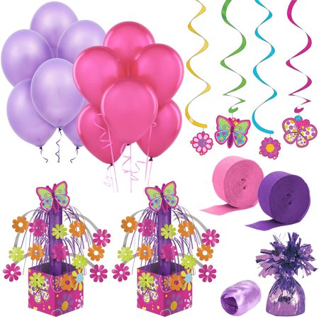 Butterfly Birthday Decoration Kit - Party Supplies - Butterfly Party Decorations