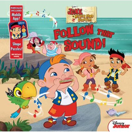 Land Mobile - Jake and the Never Land Pirates Follow That Sound! : Purchase Includes Mobile App for iPhone and iPad! Shape Puzzles!