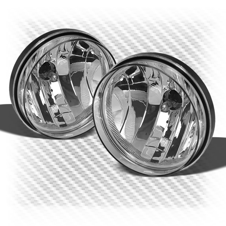 2007-2013 Sierra Clear Driving Fog Lights Rainy Lamps Left+Right w/Light Bulbs 2008 2009 2010 2011 2012 Pair Left+Right