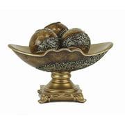 D'lusso Designs Monique 4 Piece Bowl Set with Orb